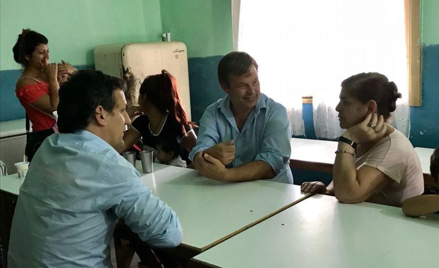 """Cascallares junto a instituciones de Don Orione y Solano: """"Trabajamos para la inclusión"""""""