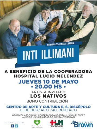 Inti Illimani a beneficio del Meléndez
