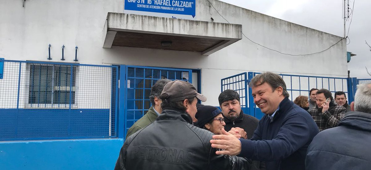 El municipio reforzó el sistema seguridad en el Caps 16 de Rafael Calzada