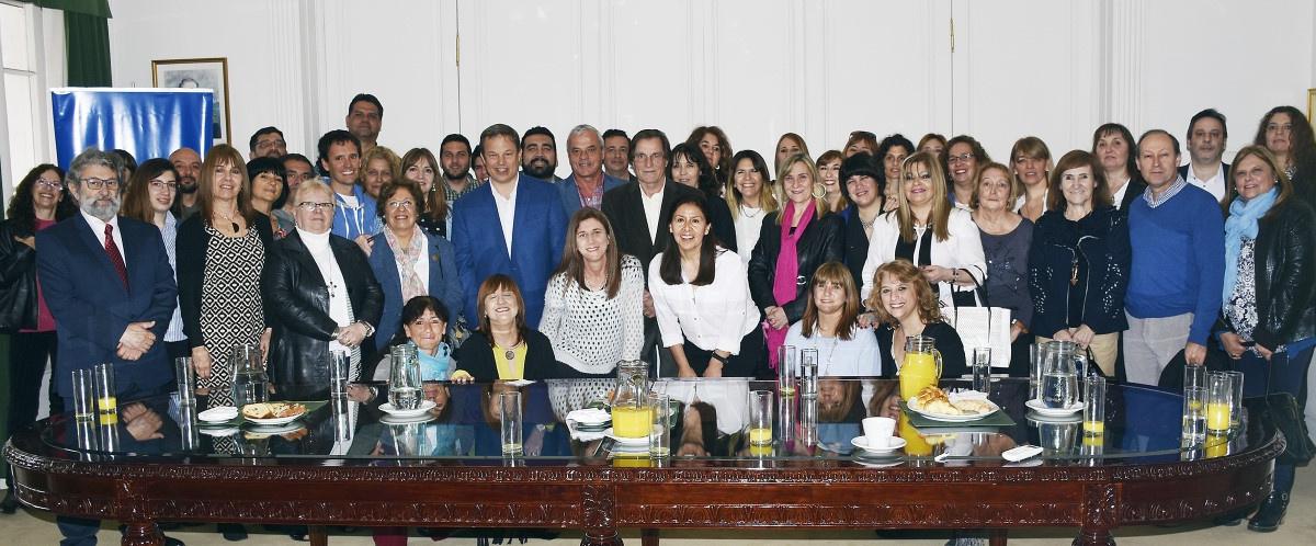 Cascallares celebró el día del maestro  junto a representantes del sistema educativo