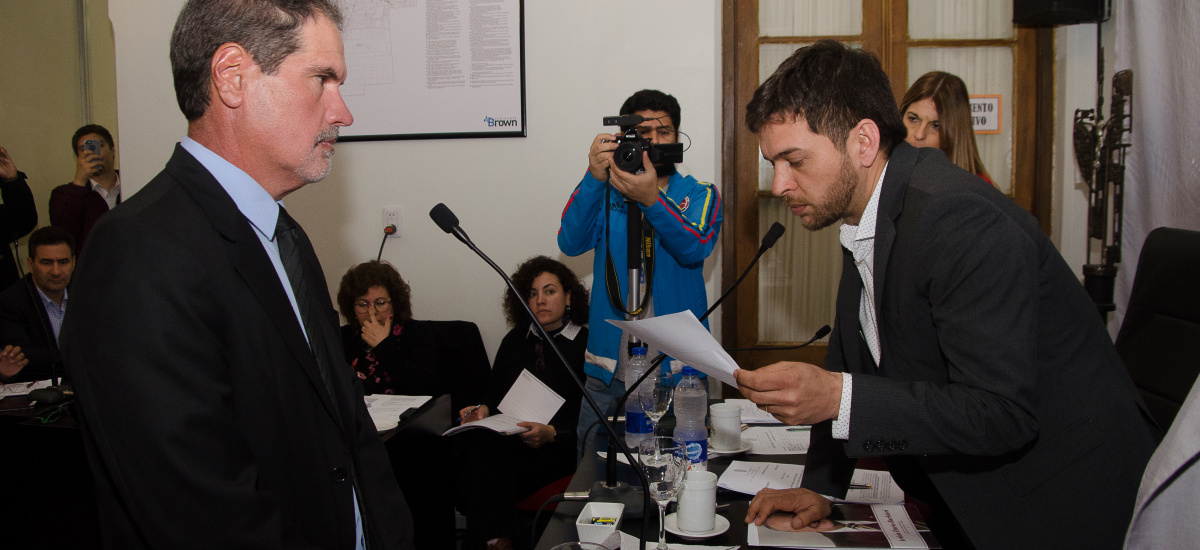 Asumió Claudio Villagra como concejal