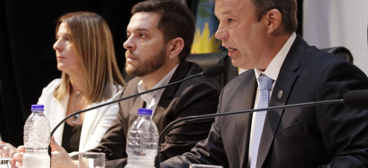 Cascallares abrió las sesiones con eje en la obra pública y la Universidad Guillermo Brown