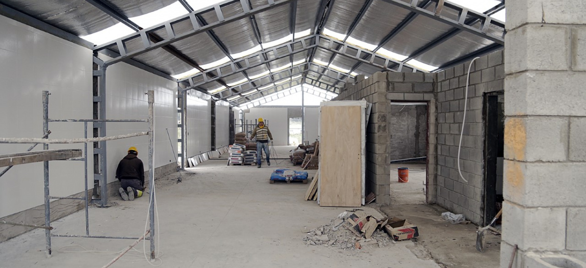 Cascallares supervisó construcción de la primera panificadora industrial municipal