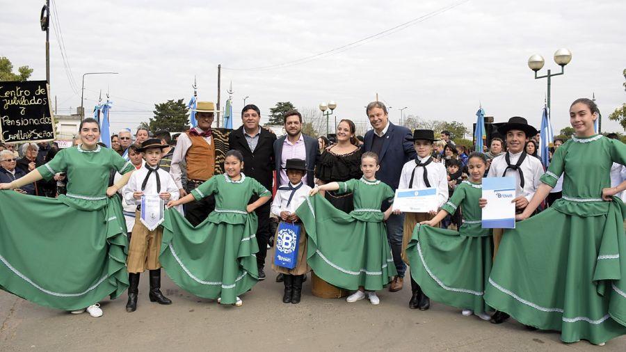 El municipio celebró junto a la comunidad el 110° aniversario de Rafael Calzada
