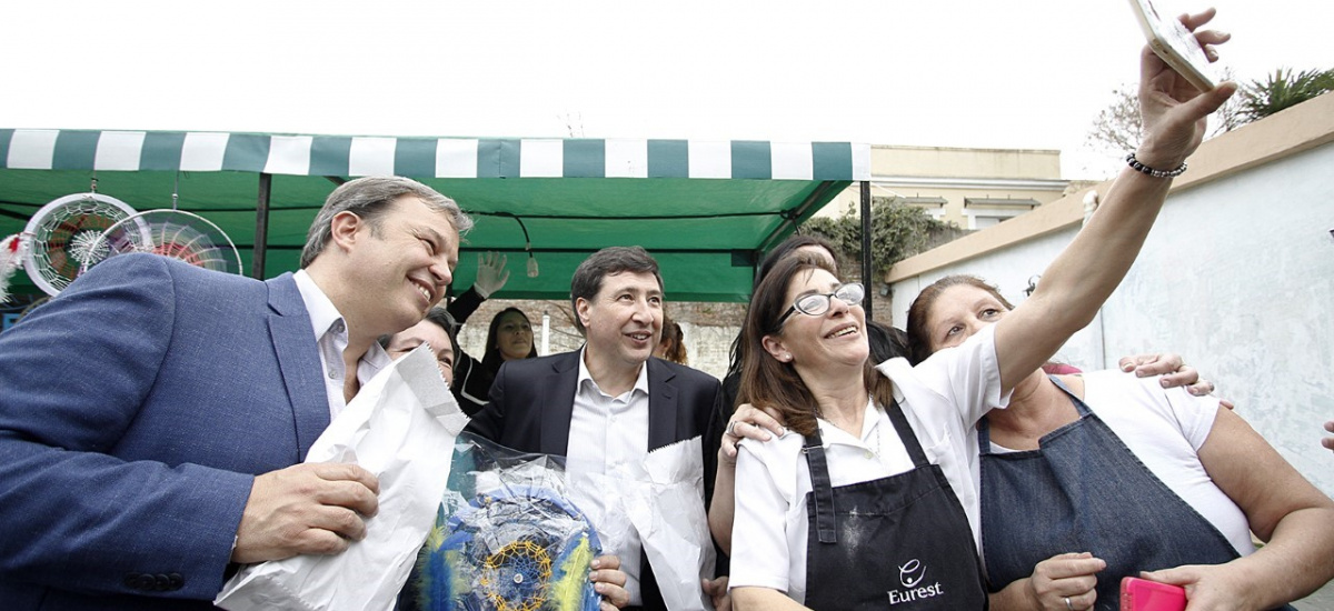 Acompañado por Daniel Arroyo e intendentes, Cascallares encabezó encuentro de la Economía Social de Brown