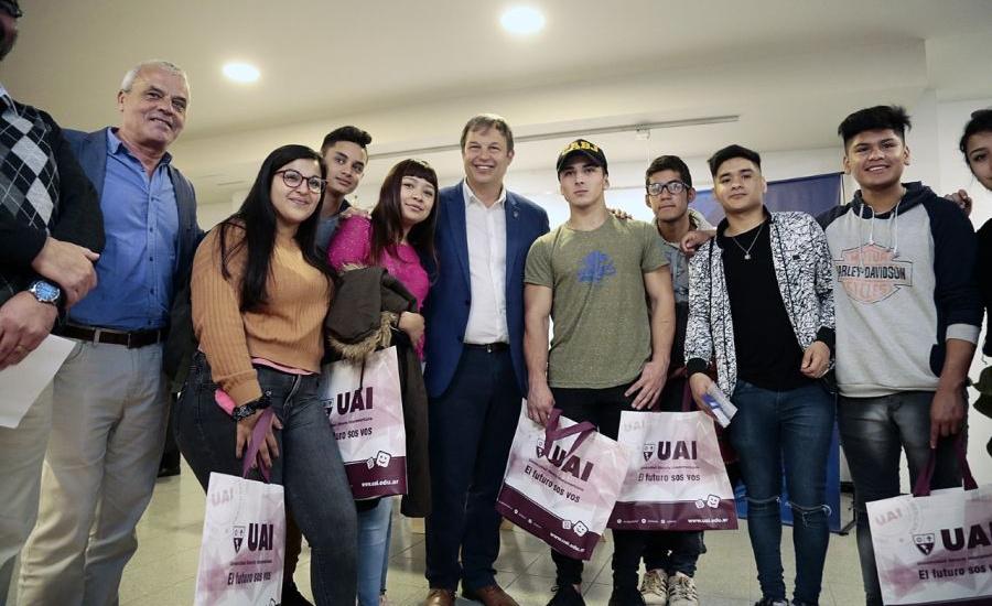 Cascallares puso en marcha  la Expo Universidad 2019