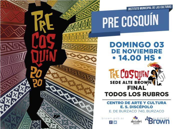 Con más de mil inscriptos, este fin de semana se desarrolla el pre Cosquín en Alte Brown