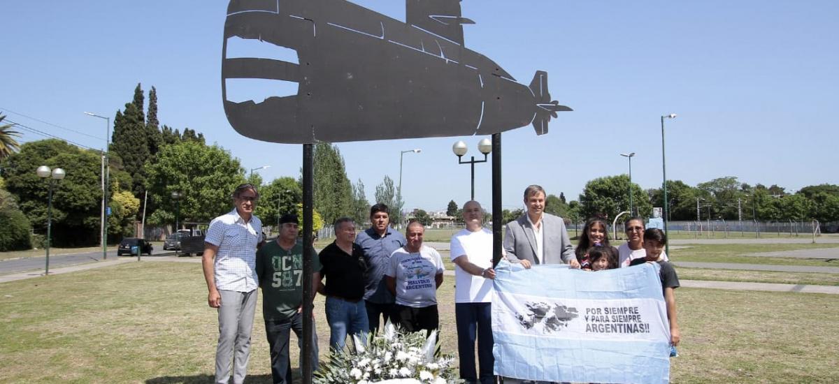 Alte Brown homenajeó a tripulantes del ARA San Juan a dos años del hundimiento
