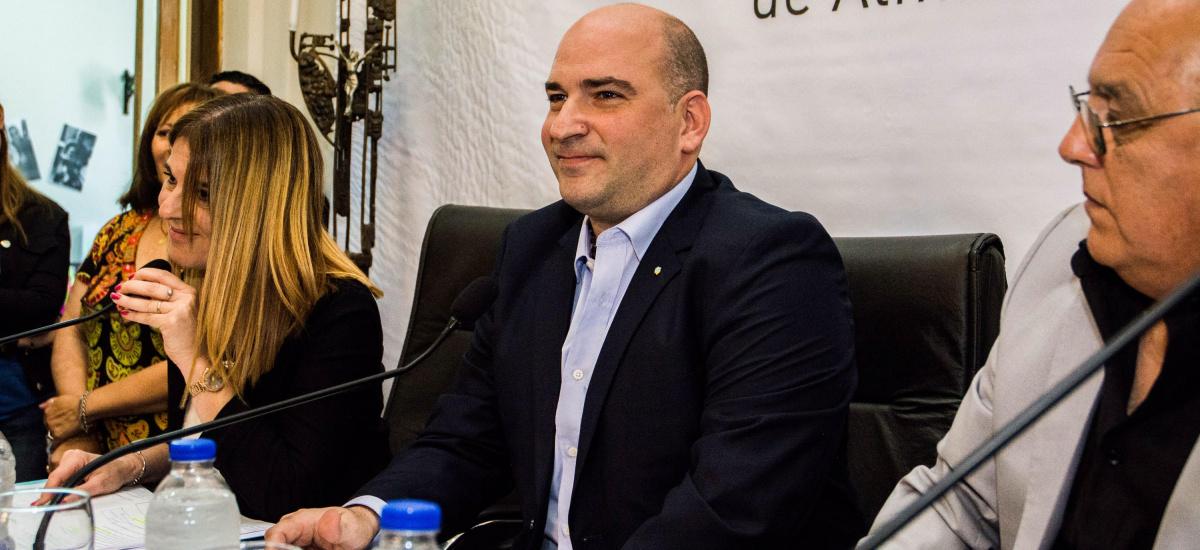 NICOLAS JAWTUSCHENKO FUE DESIGNADO COMO PRESIDENTE DEL CONCEJO DELIBERANTE