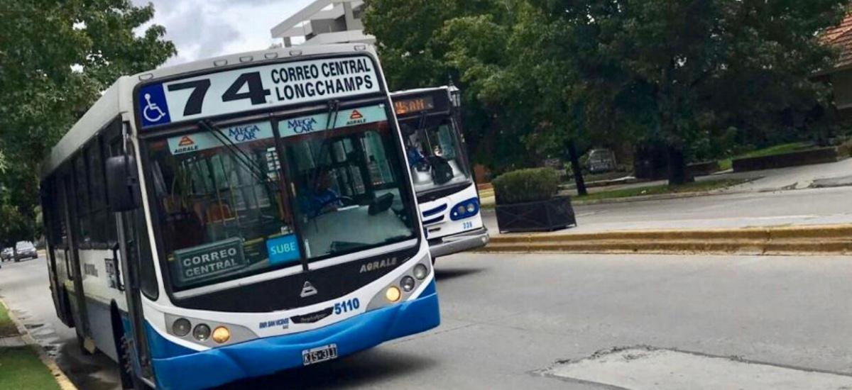 El municipio anunció el retorno de la línea 74 de colectivos a Longchamps