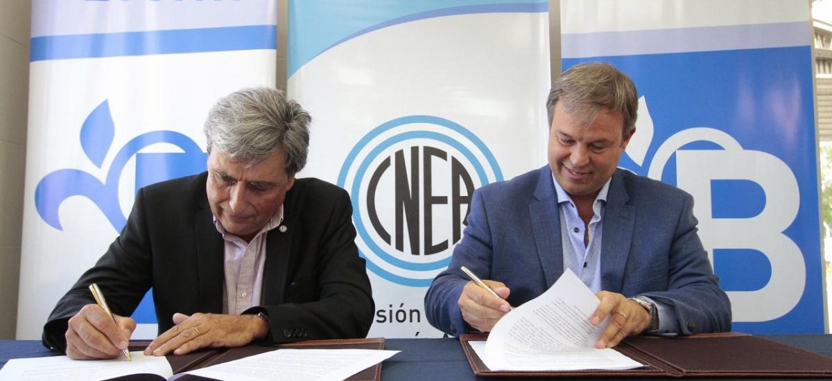 El municipio firmó un convenio de cooperación técnica con la Comisión Nacional de Energía Atómica
