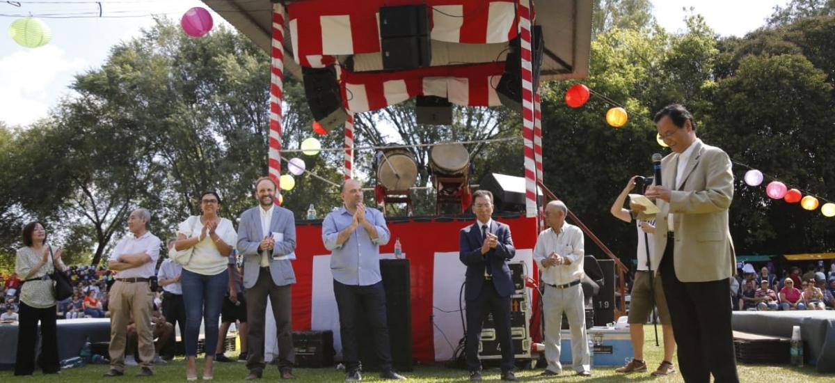 """El Municipio dijo """"presente"""" en el 9° Burzaco Matsuri de la Asociación Japonesa"""