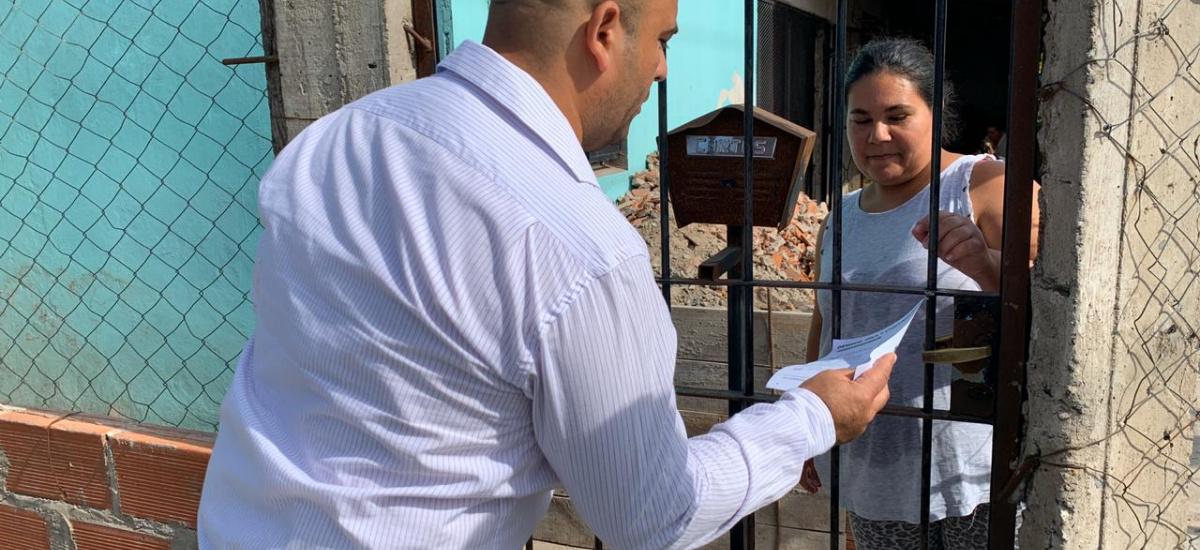 El municipio sacó a la calle a 500 promotores de la salud para prevenir el dengue