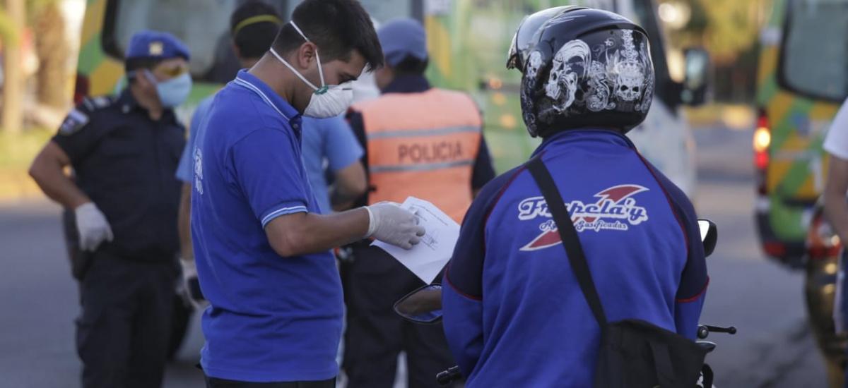 55 detenidos por violar la cuarentena e incrementan controles de tránsito