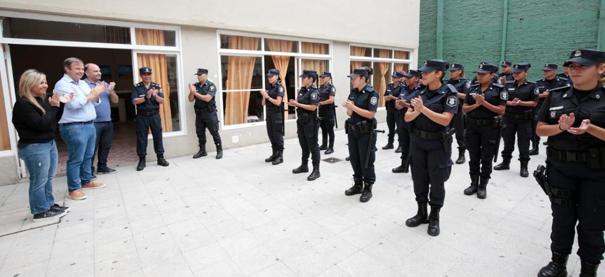 """Cascallares: """"Junto a la provincia sumamos 100 policías para Alte Brown"""""""