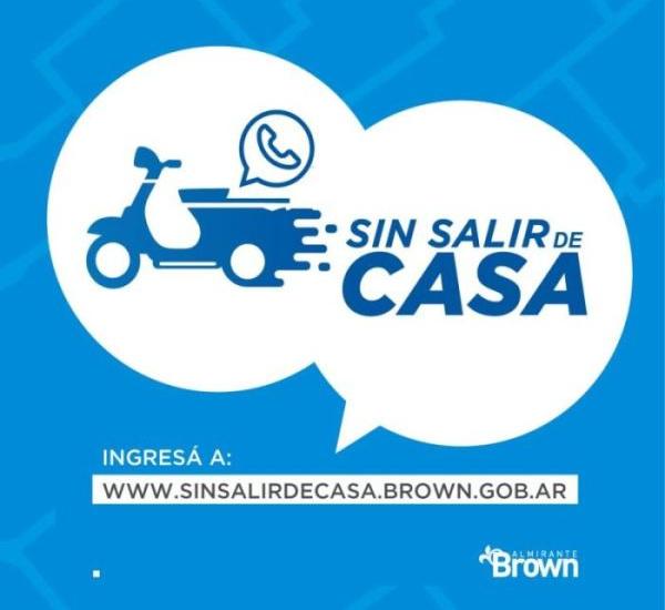 """El municipio lanzó el programa """"Sin salir de casa"""" para comprar por whatsapp"""