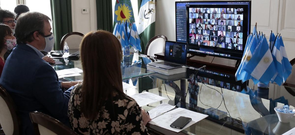 Alumnos de 100 escuelas de Alte. Brown realizaron un homenaje virtual a Manuel Belgrano