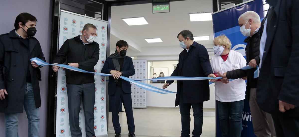 Kicillof y Cascallares inauguraron cinco Centros de Atención Primaria de la Salud