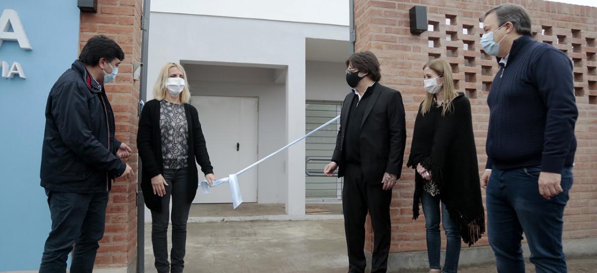 """Cascallares inauguró el nuevo edificio del centro de salud mental """"Casa TEA"""""""