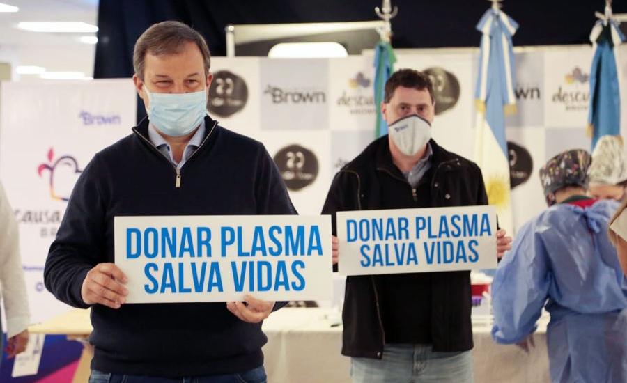 El CUCAIBA destacó la labor de Almirante Brown en materia de donación de plasma