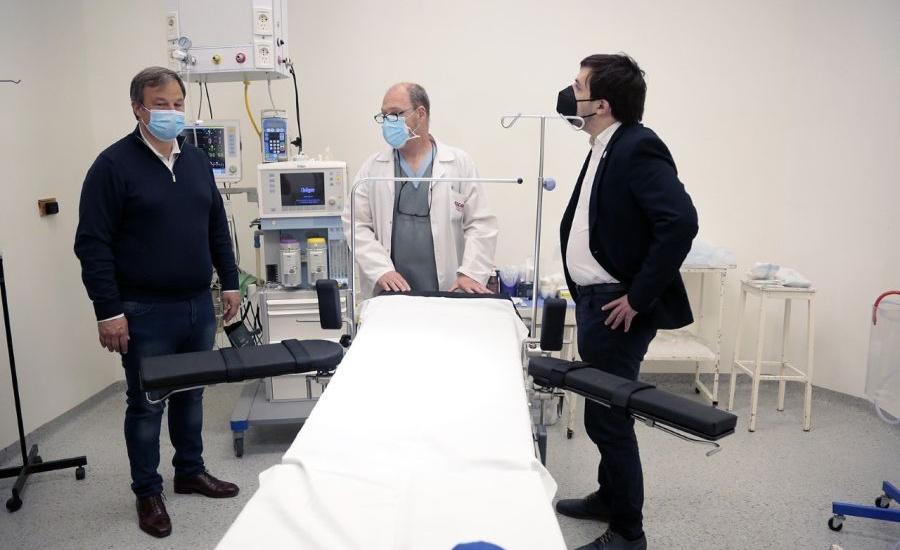 Cascallares y Kreplak inauguraron nuevo centro quirúrgico en el hospital Lucio Meléndez