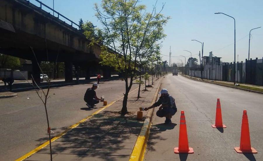 El municipio suma mejoras, seguridad y equipamiento en el puente de Claypole
