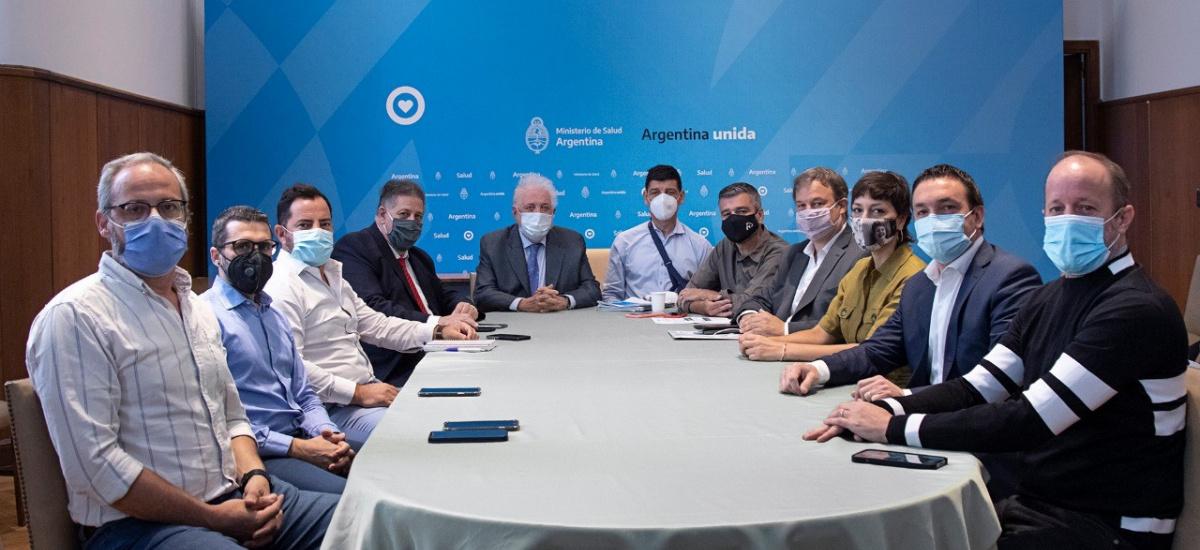 Cascallares con Ginés e intendentes para planificar la vacunación