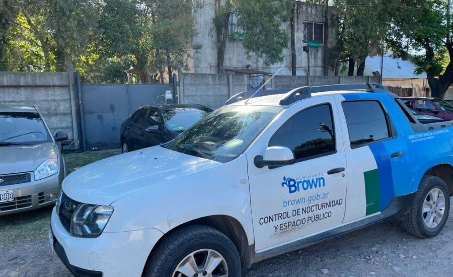 El municipio de Alte Brown desarticuló otra fiesta clandestina, esta vez en Glew