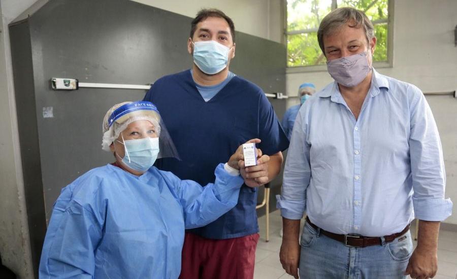 Llegaron a Almirante Brown nuevos lotes de la vacuna contra el covid-19
