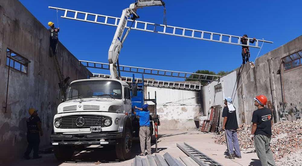 Construyen un Centro de Desarrollo Productivo para la Economía Social