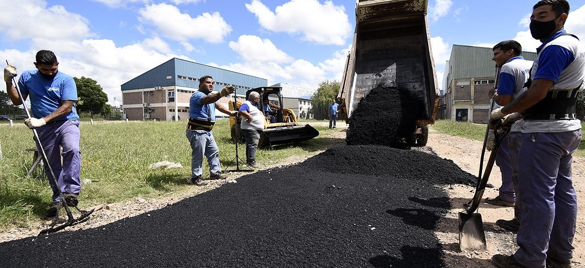 El Municipio concretó una importante obra de acceso y conectividad para el Oñativia