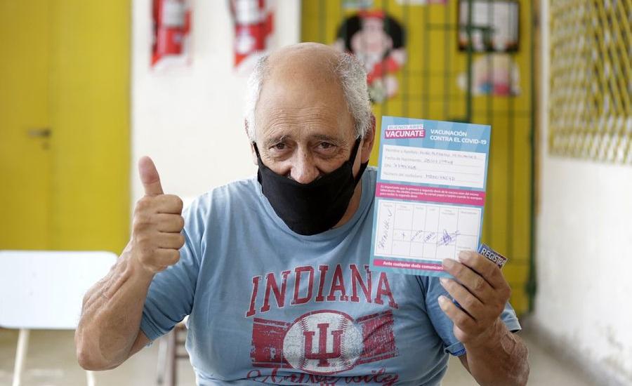 Profundizan la campaña: Alte Brown ya cuenta con once puntos de vacunación
