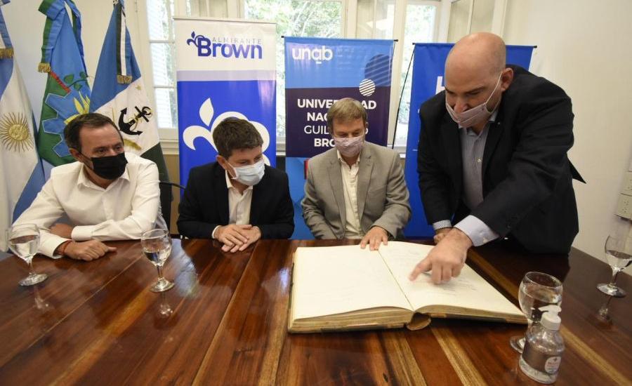 CONVENIO PARA REVISAR LOS DECRETOS DE LA DICTADURA EN BROWN