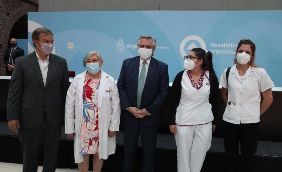 """Cascallares:""""Acompañamos el reconocimiento al personal de salud y las obras frente al covid-19"""""""