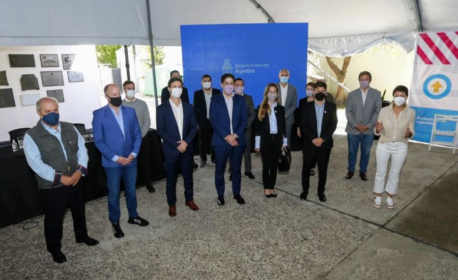 Cascallares firmó convenio con Trotta y Kicillof: Construirán dos jardines en Alte Brown