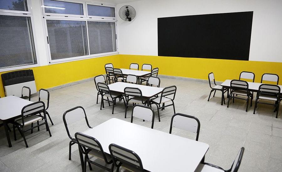 Inauguraron un nuevo jardín de infantes para Almirante Brown