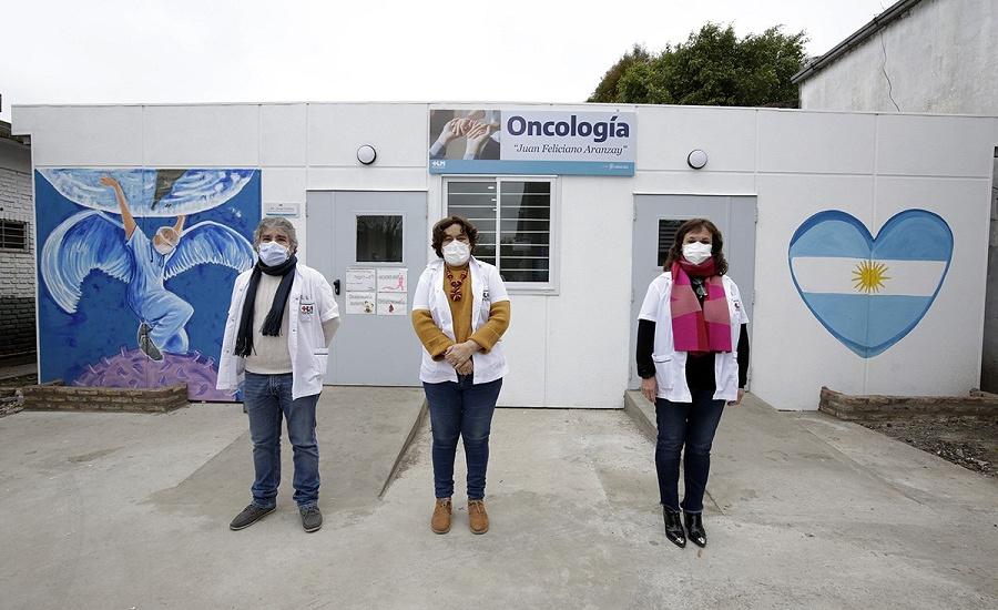 El Hospital Lucio Meléndez suma equipamiento y un nuevo espacio para oncología