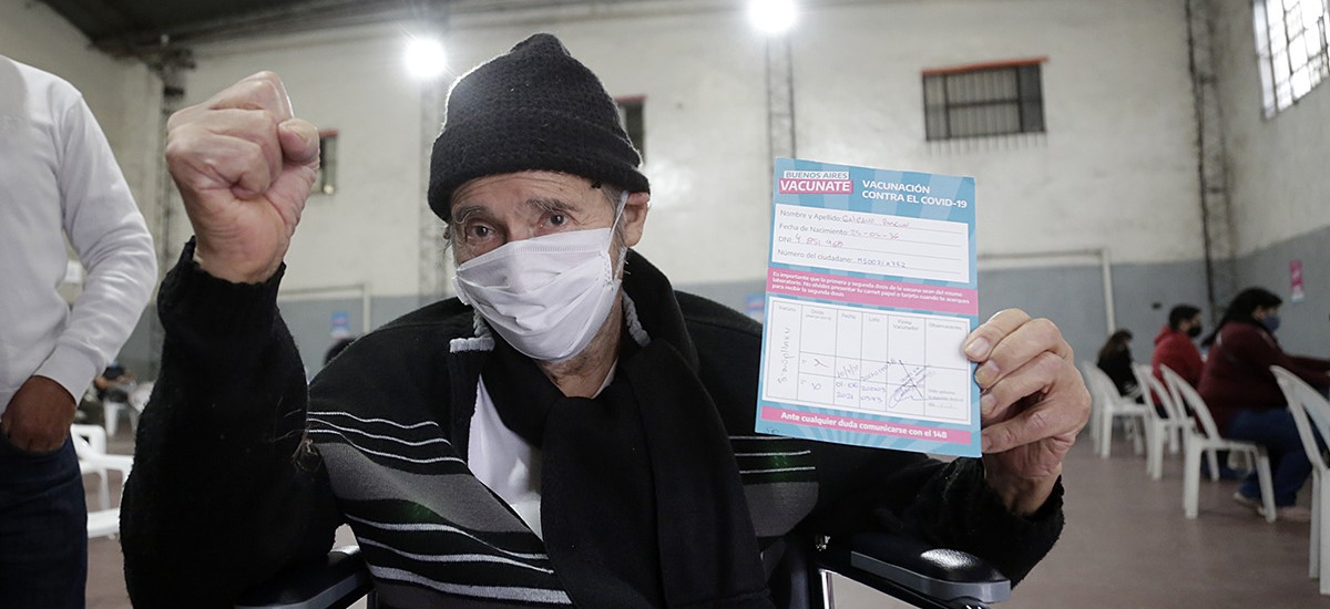 Sábado récord: en Alte Brown se vacunaron 5.349 vecinos en una sola jornada