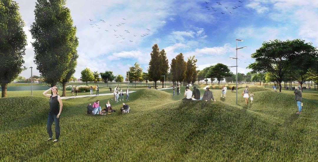 ¿Cómo será el gran Parque Municipal de ocho hectáreas que construirán en Don Orione?