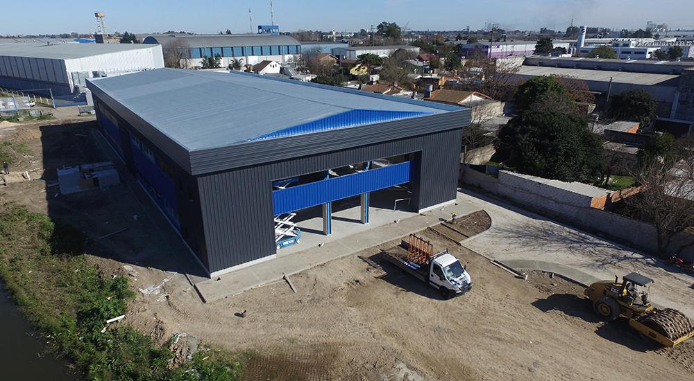 Cascallares  supervisó  la imponente obra del  nuevo centro de operaciones municipal de  Burzaco