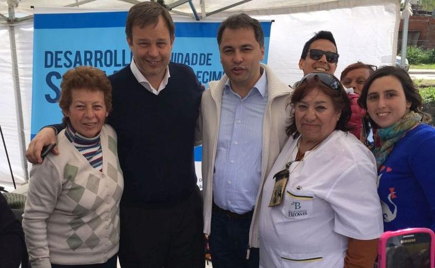 Cascallares participó de jornada del estado presente en tu barrio en Calzada
