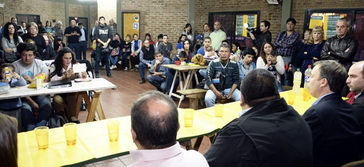 Cascallares puso en marcha el FinEs 2 en el sindicato municipal de Brown
