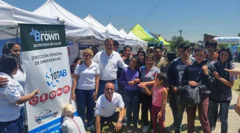 El municipio acerca servicios de salud a Glew, Longchamps, Claypole y Rivadavia