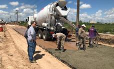 """Cascallares: """"Avanzamos con más obras de asfalto que conectan localidades y mejoran la transitabilidad"""""""