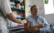 Con más de 30 mil vecinos vacunados, prosigue en Brown la Campaña Antigripal 2019
