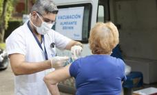 Antigripal: El municipio sale a vacunar casa por casa