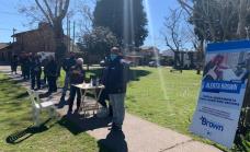 El municipio de Alte Brown lleva la aplicación alerta Brown a los barrios