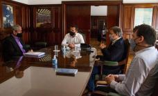 Cascallares con el secretario de energía de nación buscando  mejoras en el servicio de Edesur
