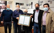 """En el """"Día del Pediatra"""" el Municipio homenajeo al Dr. Valentino"""