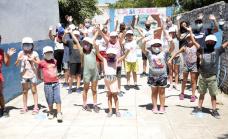 """Cascallares visitó la sede de San José del programa """"Verano ATR"""""""